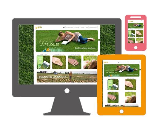 Adaptation de la page d'accueil d'un site web selon la taille de l'écran